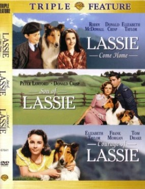 Lassie Triple Feature 2 DVD Set - DVD Image
