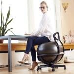 Gaiam Ultimate Balance Ball Chair Ergonomic Ball Chair