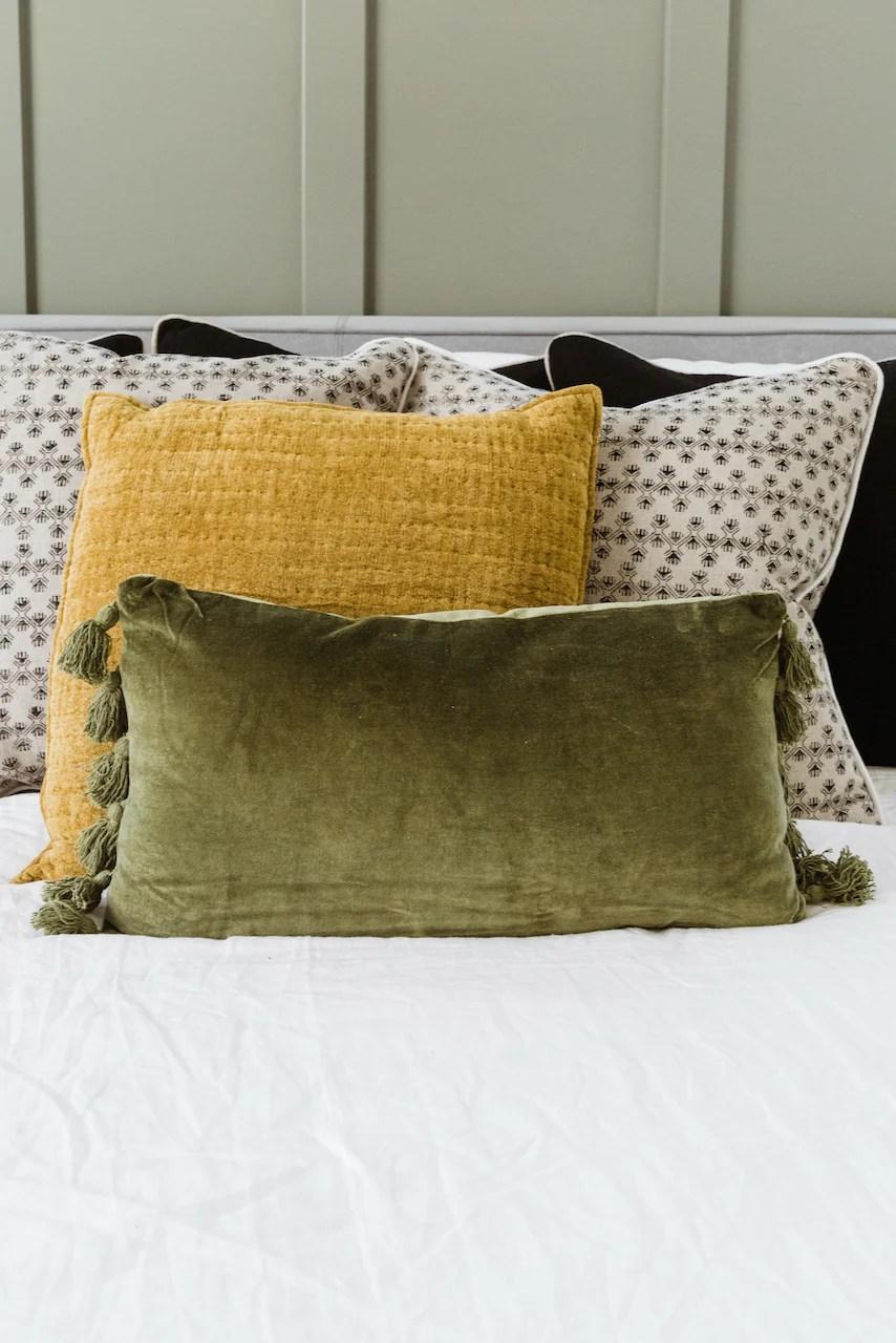 velvet lumbar pillow cute throw