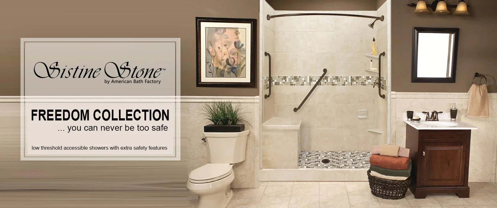 American Bath Factory Providing Shower Kits And Bathtubs For