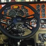 2006 Peterbilt 379 389 386 384 Chrome Center Dash Panel Trim 387 388