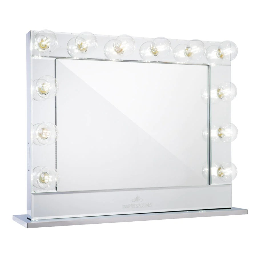 Hollywood Reflection® Plus Vanity Mirror • Impressions ...