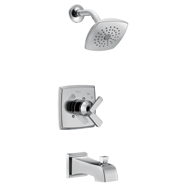 delta ashlyn monitor 17 series tub and shower trim t17464 central plumbing and heating supply co inc