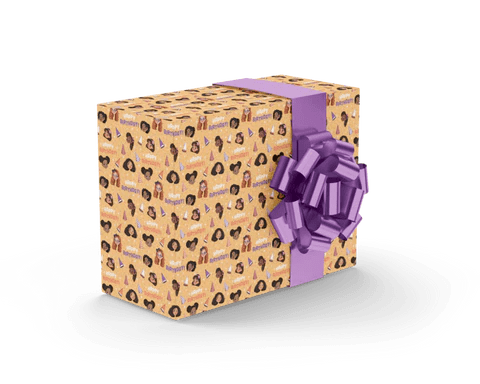 Black Owned Wrapping Paper