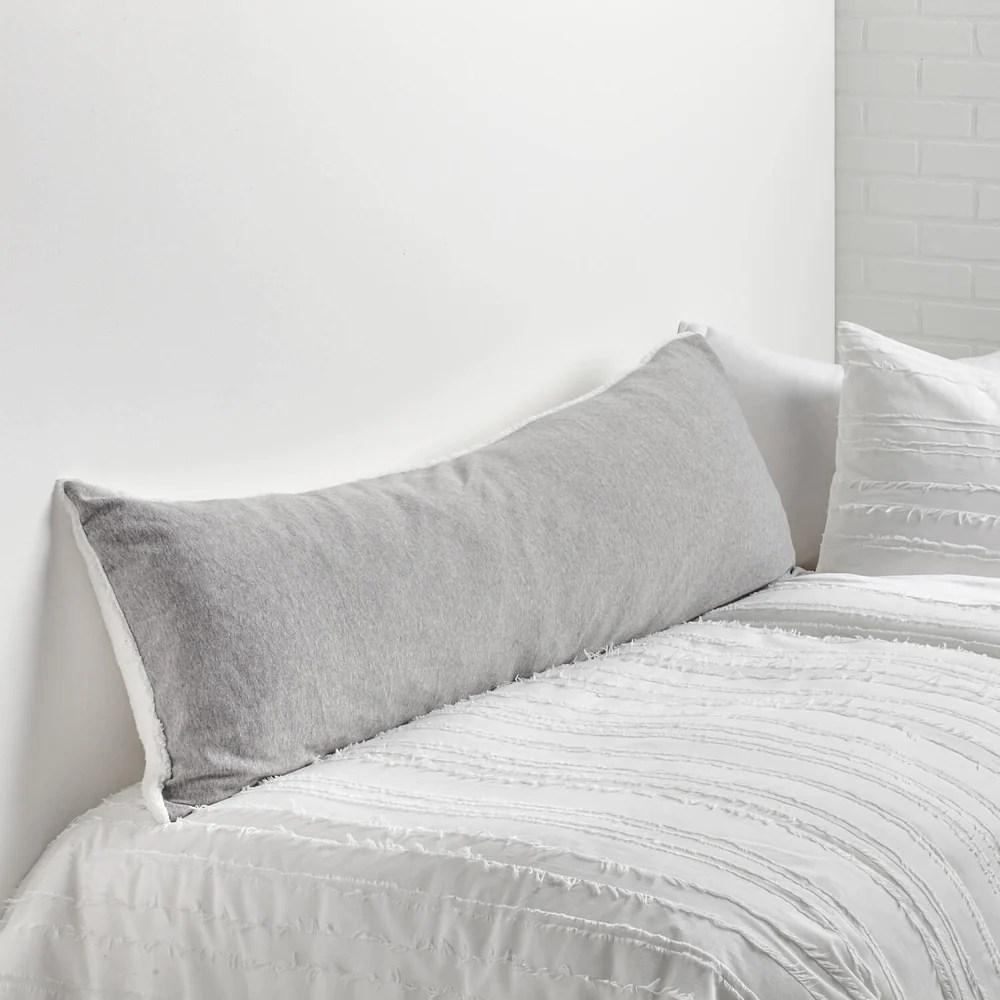 sweatshirt sherpa body pillow cover