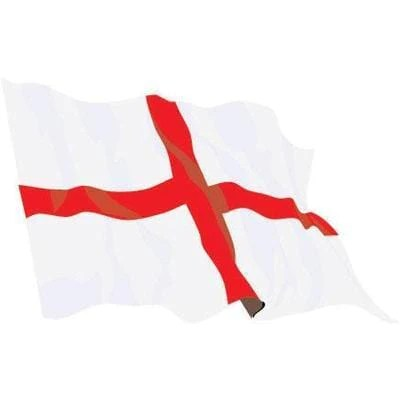 Printed St George 15yrd 136cm X 68cm Flags And Flagpoles