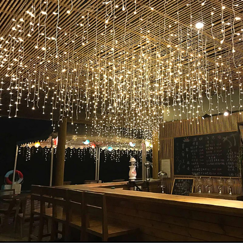 5m x 0 5m 0 6m 0 7m 96 led fairy lights curtain decor outdoor