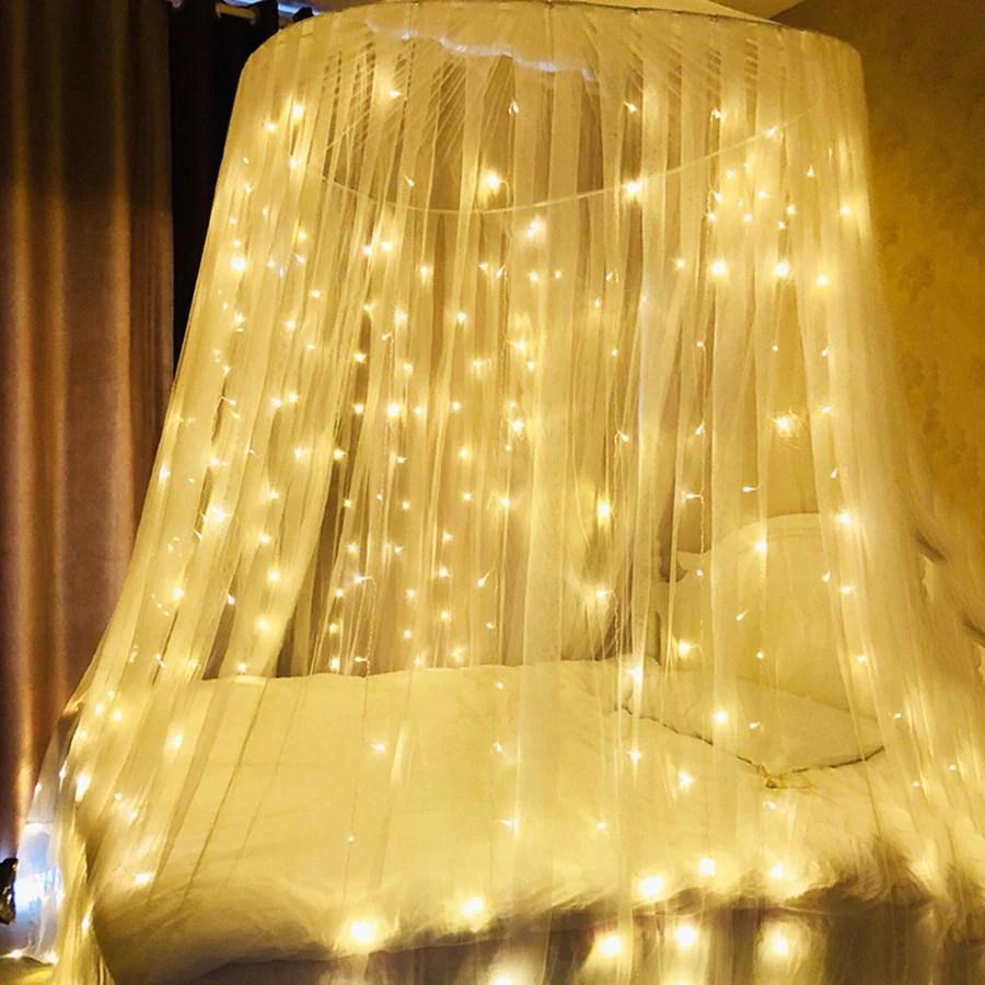 3m x 3m curtain fairy lights 300 led string lights plug