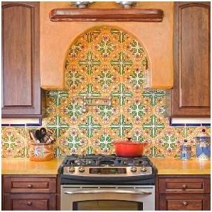 spanish tiles create vibrant patterns