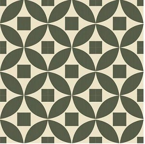 geometric moroccan circle encaustic cement tile 8 x8