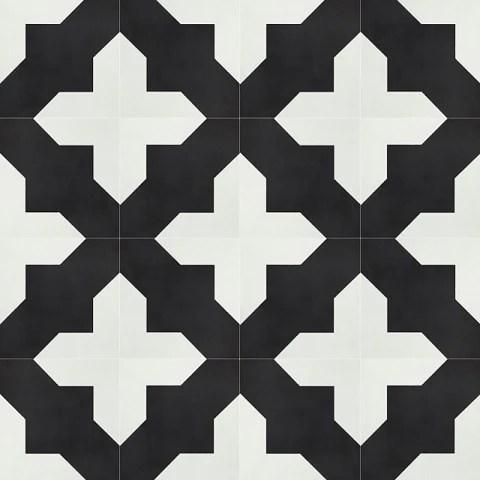 classic badajoz b 8 x 8 cement tile