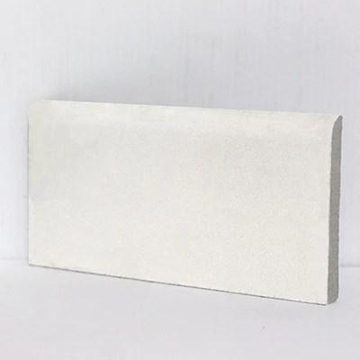 base trim 4 x 8 surface bullnose cement tile