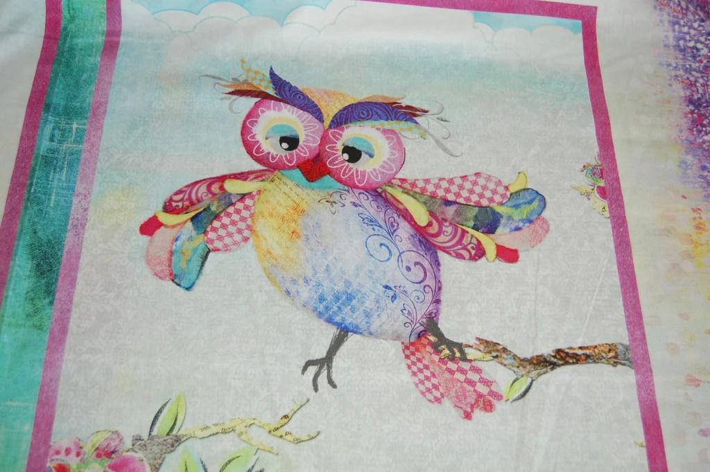 3 Wishes Boho Owls Owl Panel Fabric Shack Malmesbury