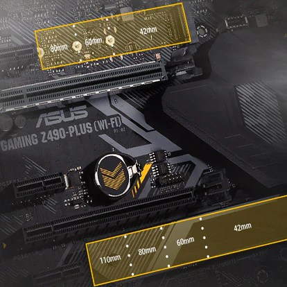 ASUS ROG STRIX Z490-F GAMING ATX Motherboard