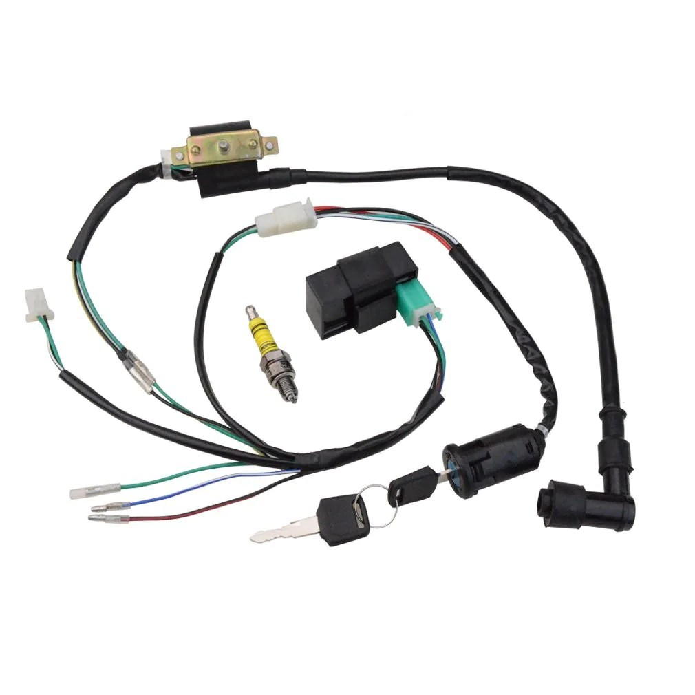 Wire Harness   Motorcycle, Go Kart, ATV, Scooter, Dirt