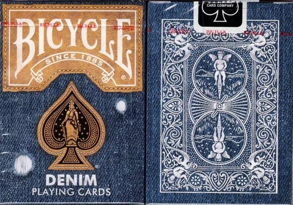 牛仔布v2自行車紙牌