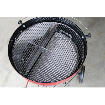 elevated cooking grate stainless