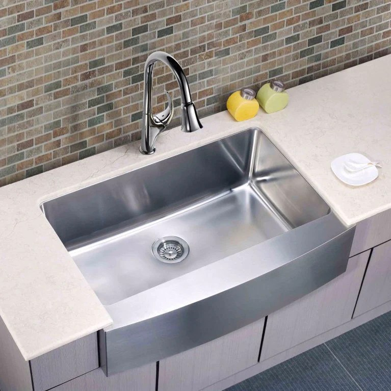 dawn stainless undermount farmhouse apron front sink daf3320c on farmhouse sink lowest price id=36904