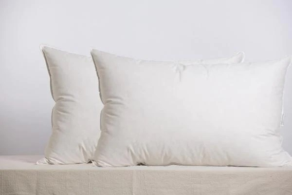 set of 2 50 50 feather down with micro gel polyester harris pillow