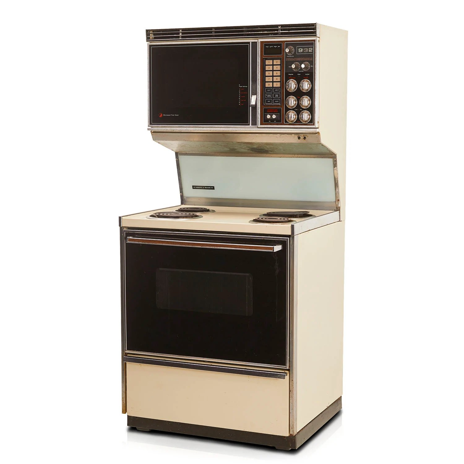vintage combination microwave and oven