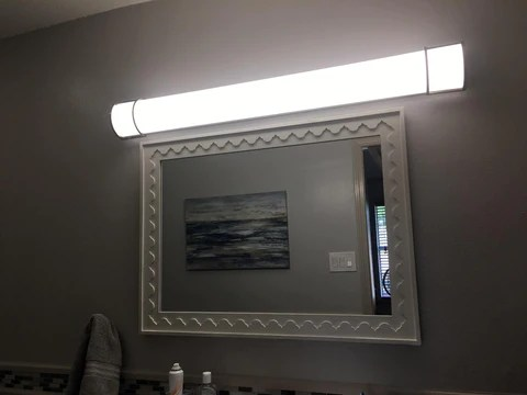 led vanity light how can you improve
