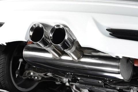 milltek cat back exhaust system