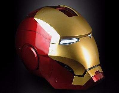 Classic Iron Man Helmet 100 Metal