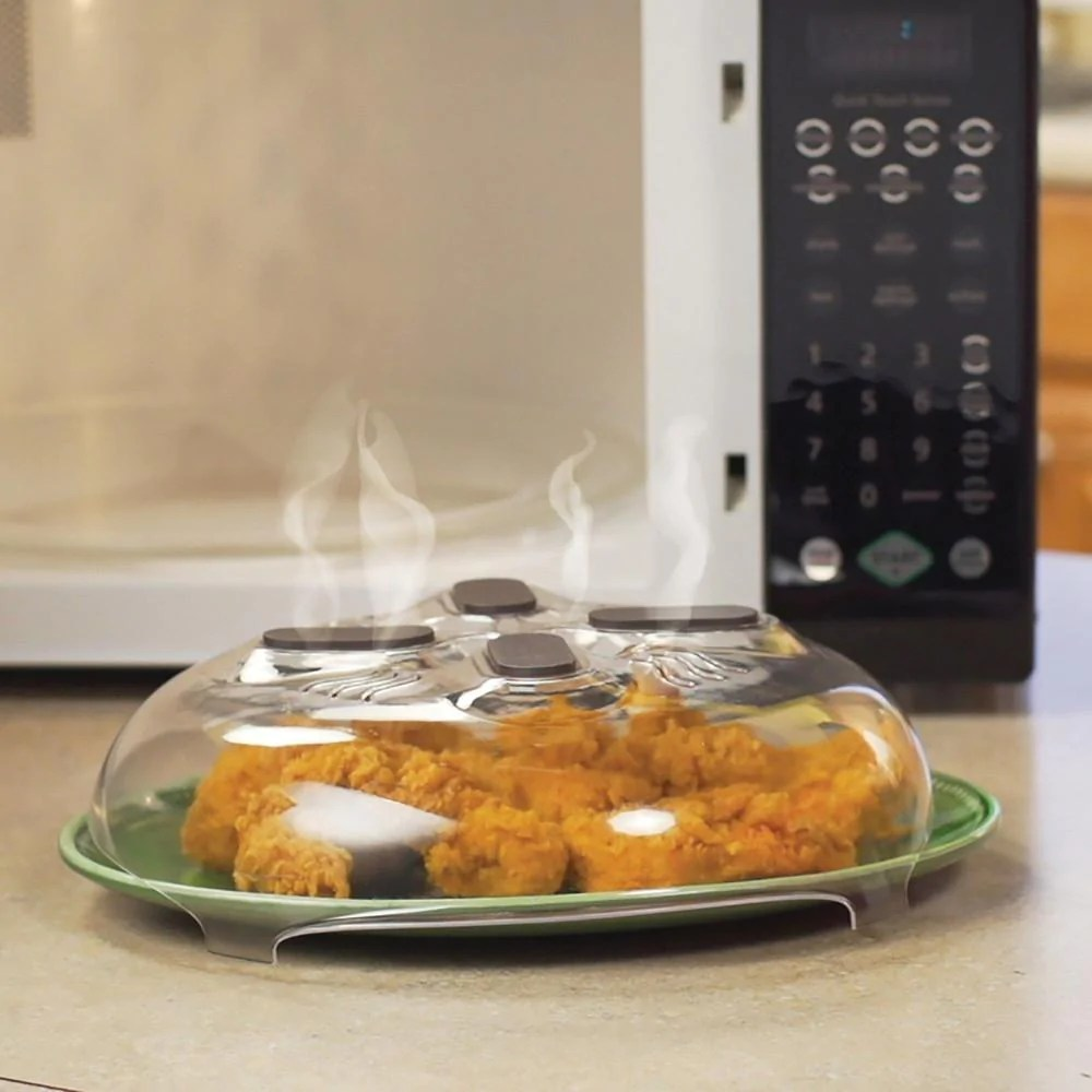 hover cover microwave splatter cover