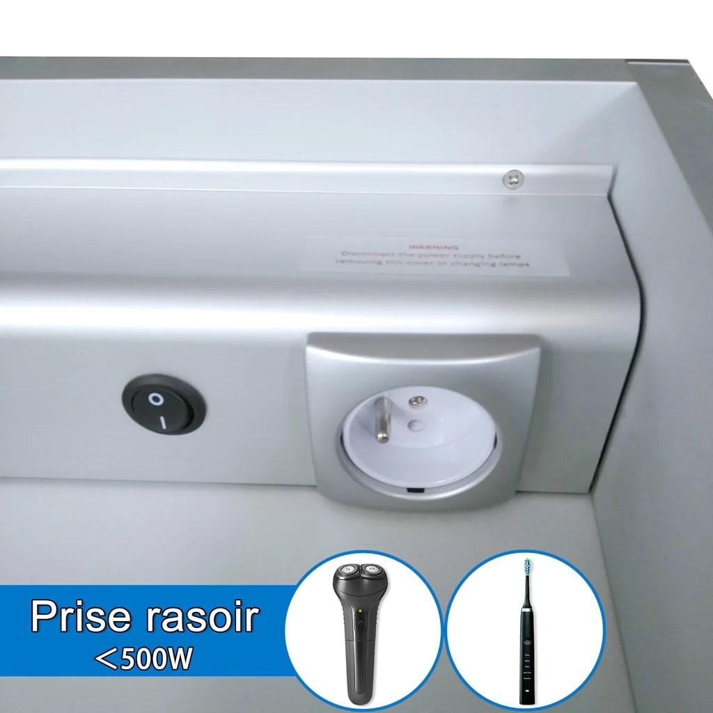 Miroir Salle De Bain Armoire De Toilette Avec Miroir Cabinet Miroir Aica Sanitaire