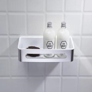 etagere de douche en acier inoxydable panier de douche 29x11 5x5 5 triangle salle de bain