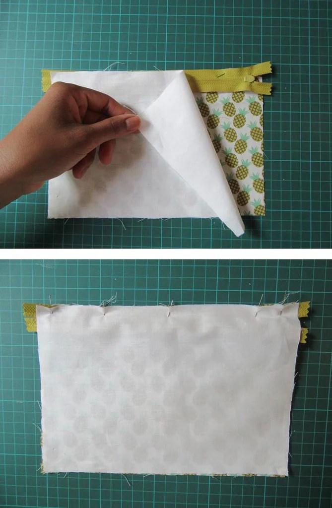 Tuto couture trousse en tissu