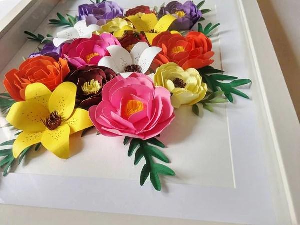 Do it Youself Fleurs en papier