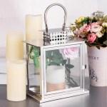 Metal Lantern Centerpieces Outdoor Candle Lanterns Tableclothsfactory