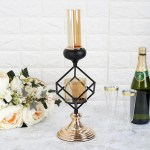 13 Geometric Candle Holder Glass Votive Holders Tableclothsfactory