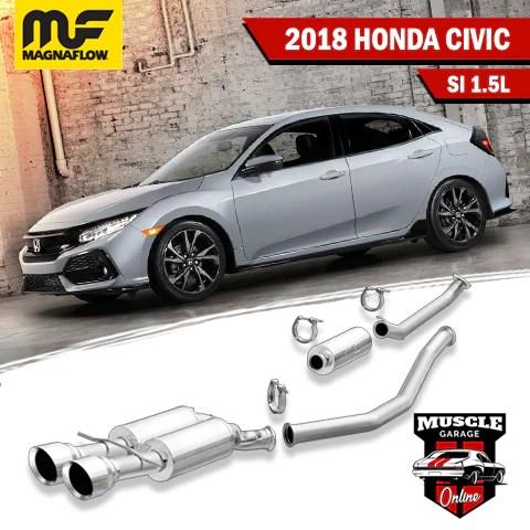 2019 honda civic exhaust