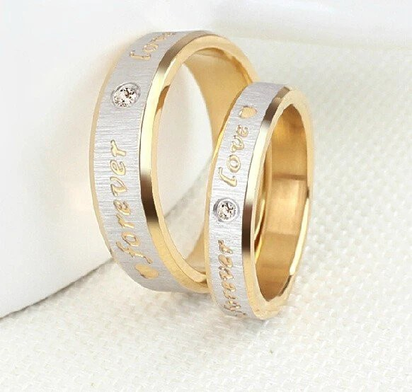Forever Love Couple Ring Good Morning Quote