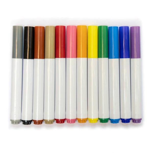 彩色水筆(可水洗) Color Marker Pen (Washable) – Cardboardsmart