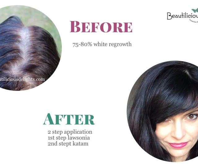 Henna Hair Dye Before After Pics On Gray Roots Not Only