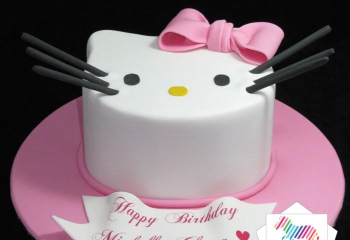 Hello Kitty Birthday Cake Sydney Tanner Gates
