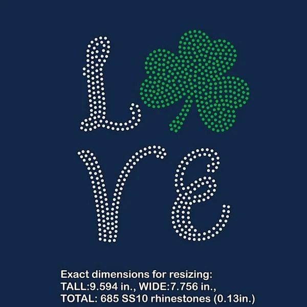 Download BEEHIVEFILES & RHINESTONEHIVE - St Patrick shamrock love ...