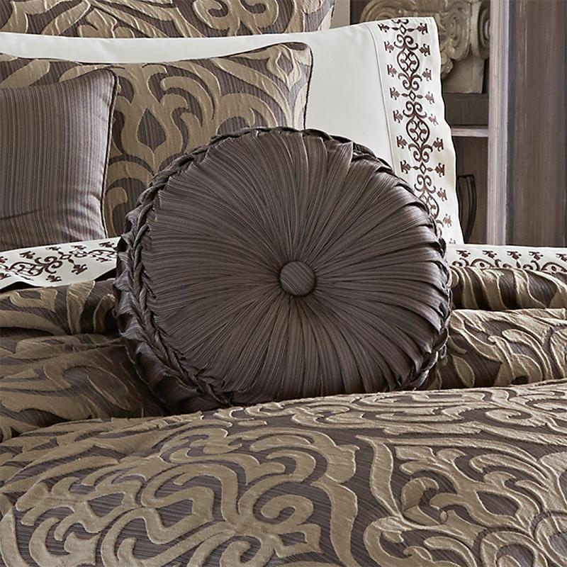 astoria mink tufted round decorative throw pillow latest bedding