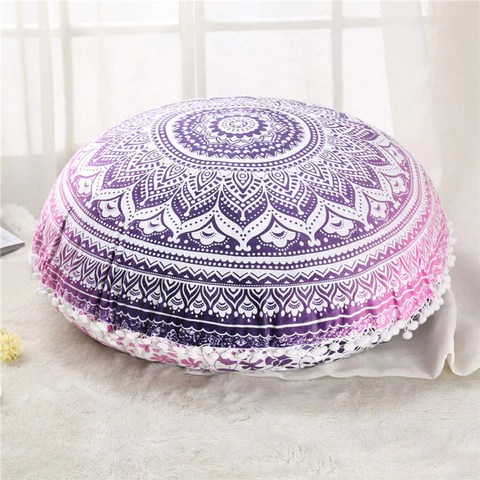 mandala floor pillow covers instyle