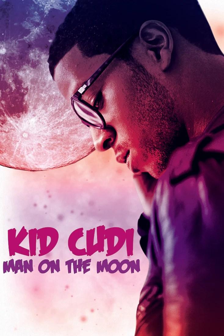 kid cudi man on the moon art poster