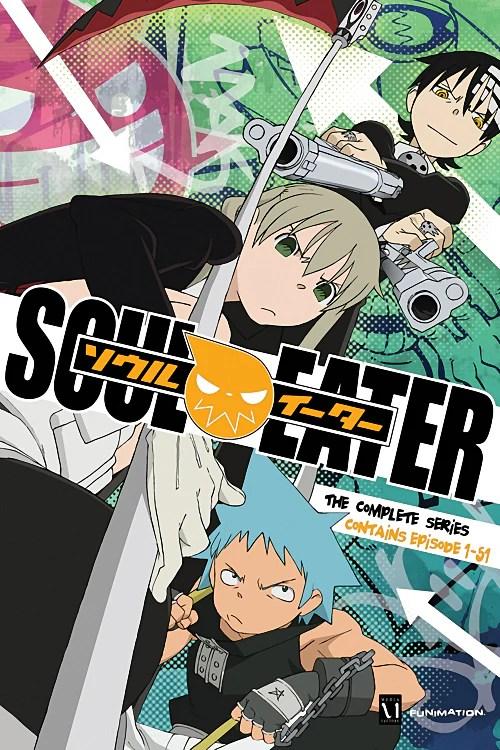 soul eater anime poster