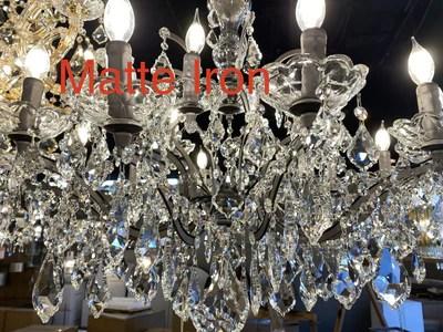 maria theresa crystal chandelier