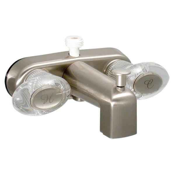 catalina 4 rv faucet tub diverter nickle