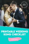 Wedding Music Ideas Printable Wedding Song Checklist The Ring Boxes - Wedding Song, G The Wedding Song Sheet Music For Piano Solo Pdf Interactive