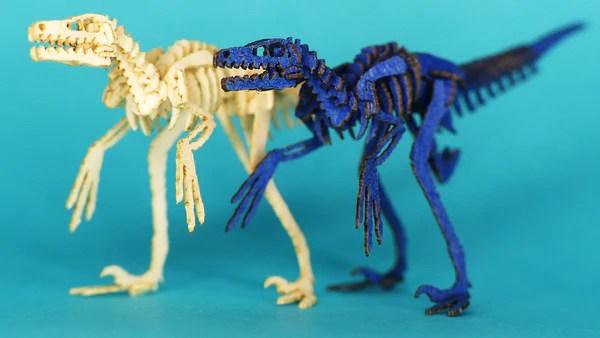 Tiny Velociraptors