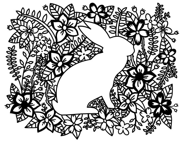 Coloring Pages  Rabbit  Free Download – Ta Muchly