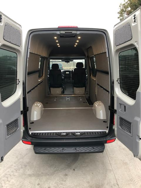 2007 Sprinter Van Wall Liner Kit 144 Quot High Crew Van